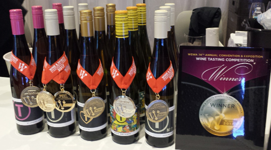 tina pfaffmann wines get gold and best in show at wswa 2017